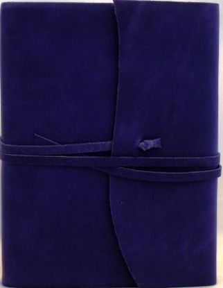 Amalfi Aubergine Leather Journal